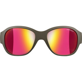 Julbo Lola Spectron 3CF Lunettes de soleil 6-10Y ans Enfant, army/pink-multilayer pink